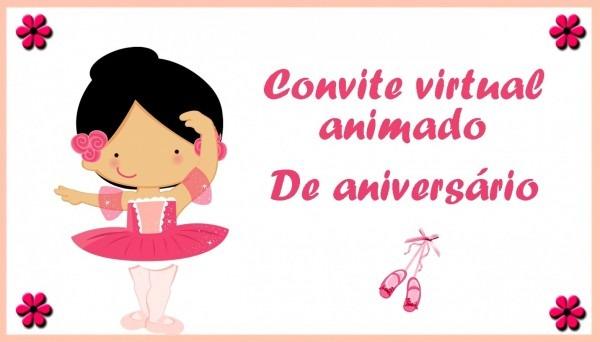 Imagens convite online de aniversario virtual animado anivers rio