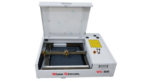 Máquina de corte e gravação a laser 4040 s p p  convite