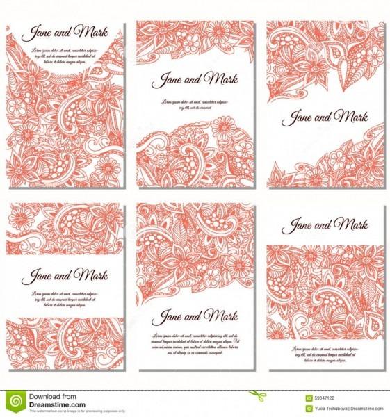 Maravilhoso convite individual casamento download set of wedding