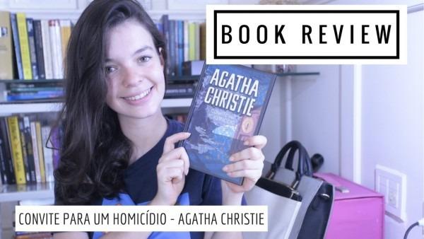 Convite para um homicidio (agatha christie)   book review