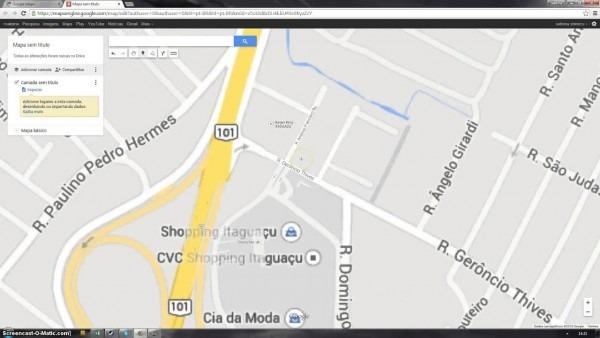 Como criar e compartilhar mapas no google maps