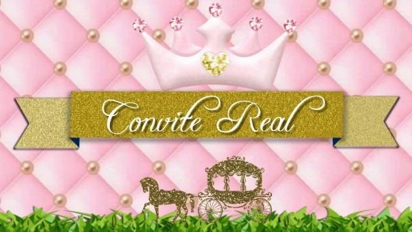 Convite virtual realeza