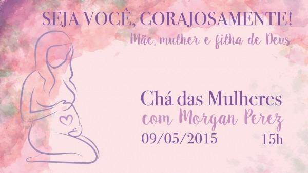 Convite chá de mulheres 2015