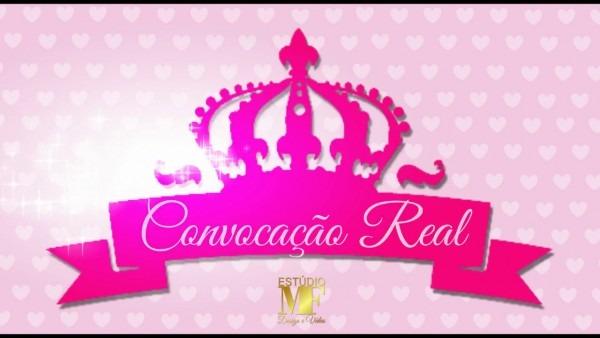 Convite virtual realeza (coroa)