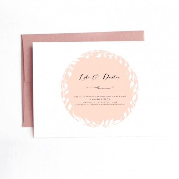 Inspirador de impress o convites casamento curitiba convite cart