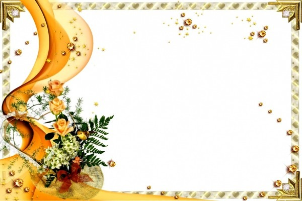 Molduras para convites de casamento download