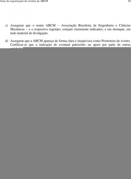 AssociaÇÃo brasileira de engenharia e ciÊncias mecÂnicas