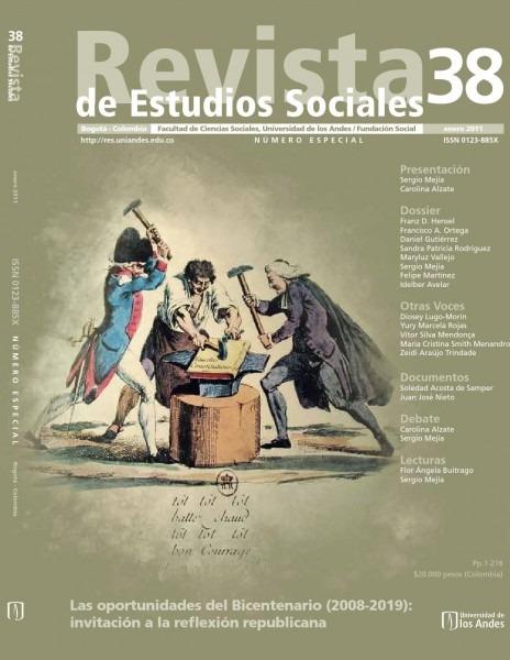Revista de estudios sociales no  38 by publicaciones faciso