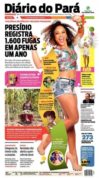 Jornal diário do pará nº 11 170 by portal academia do samba