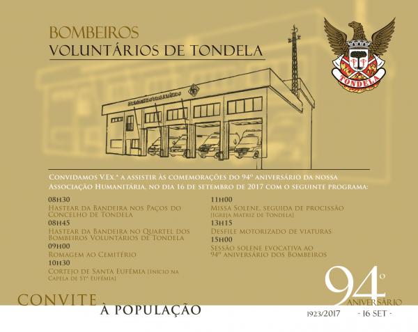 94º aniversário da associação humanitária dos bombeiros