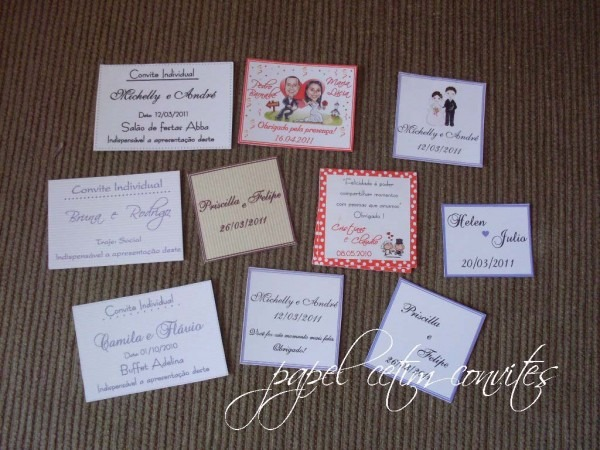 Papel cetim convites  tags para lembrancinhas e convite individual