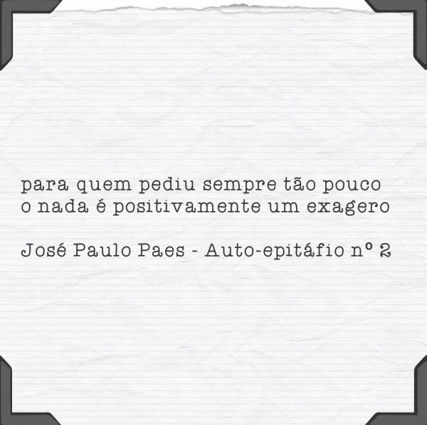 José paulo paes – auto