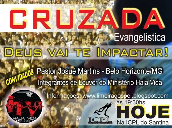 Limeira gospel produções e eventos  cruzada evangelistica