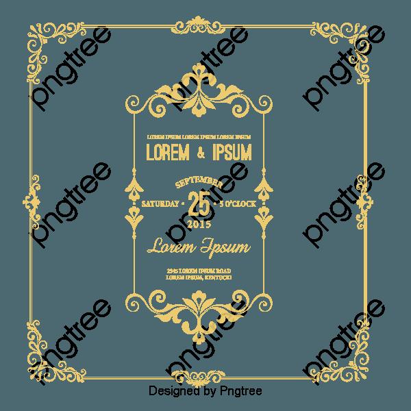 Convite de casamento vintage lace estilo europeu rendas retro