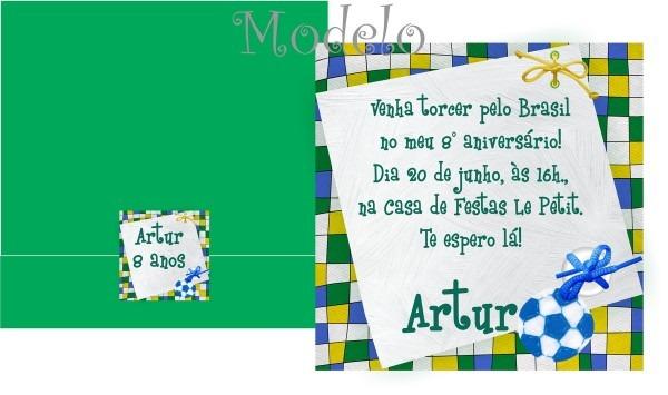 Convite do brasil